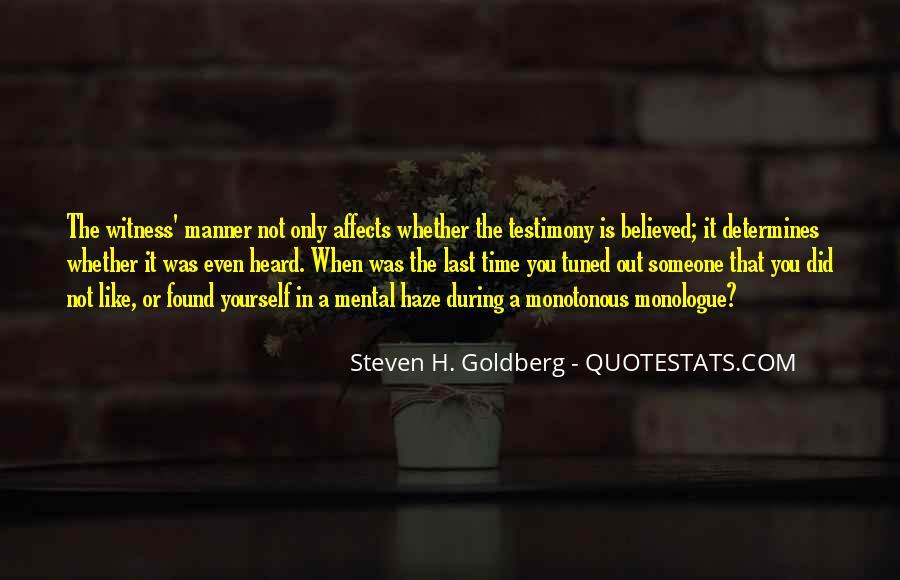 Steven H. Goldberg Quotes #387286