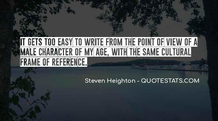 Steven Heighton Quotes #300247