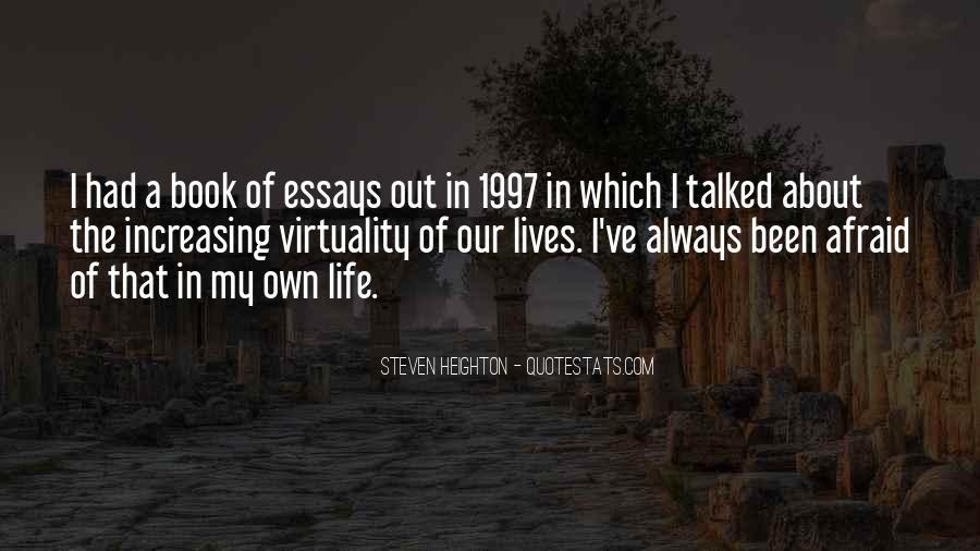 Steven Heighton Quotes #369909
