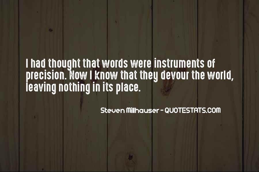 Steven Millhauser Quotes #1847726