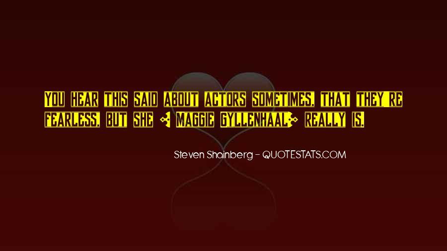 Steven Shainberg Quotes #596438