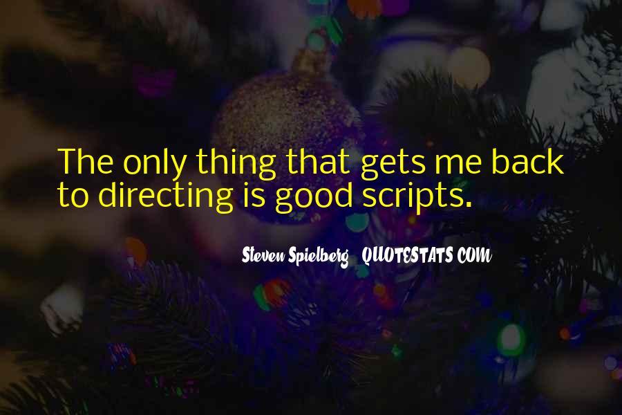 Steven Spielberg Quotes #1470553
