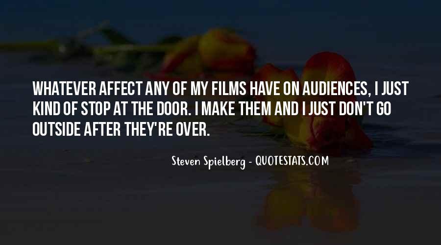 Steven Spielberg Quotes #803904