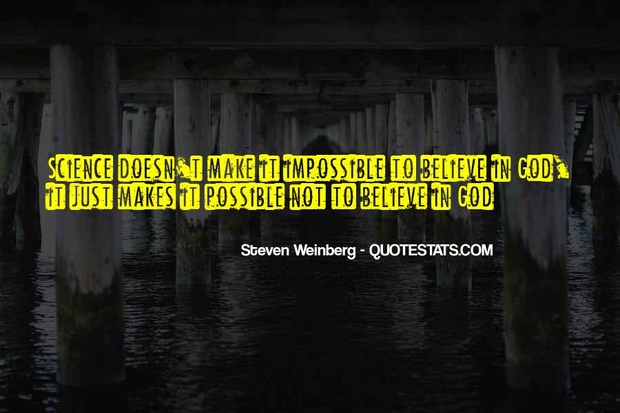 Steven Weinberg Quotes #1022412