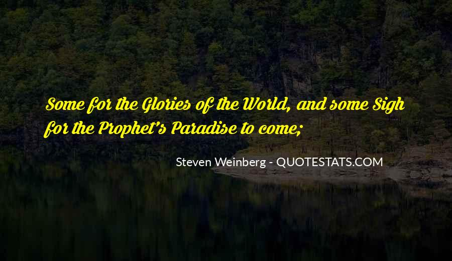 Steven Weinberg Quotes #132814