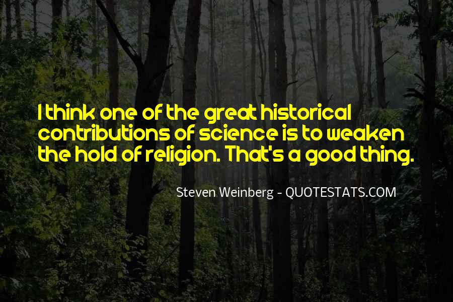 Steven Weinberg Quotes #1356194
