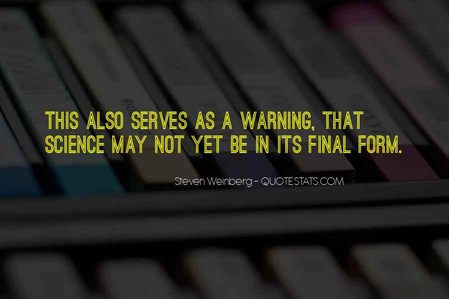 Steven Weinberg Quotes #1395502