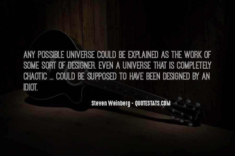 Steven Weinberg Quotes #144033