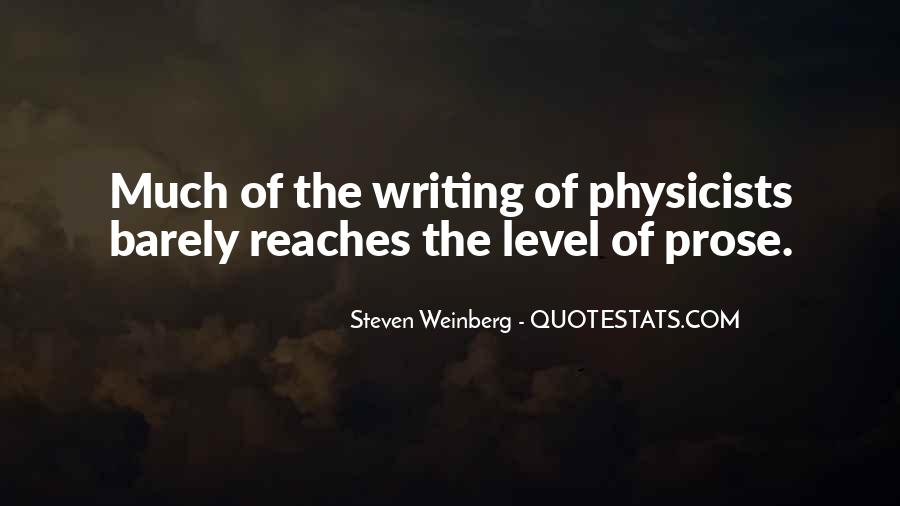 Steven Weinberg Quotes #1733945