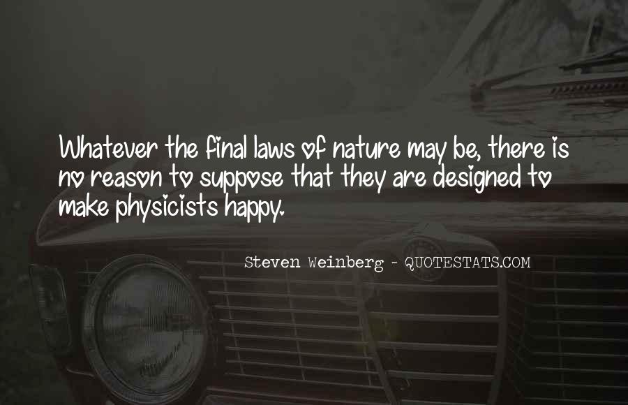 Steven Weinberg Quotes #281891