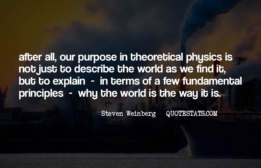 Steven Weinberg Quotes #316903