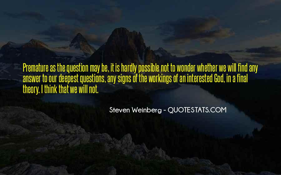Steven Weinberg Quotes #45162