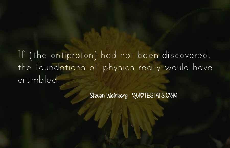 Steven Weinberg Quotes #493831