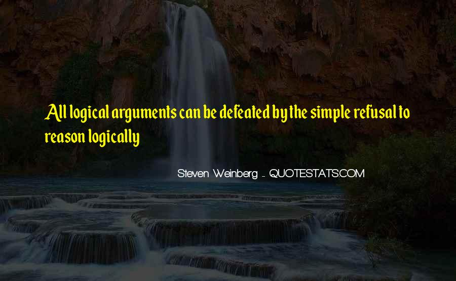 Steven Weinberg Quotes #532454