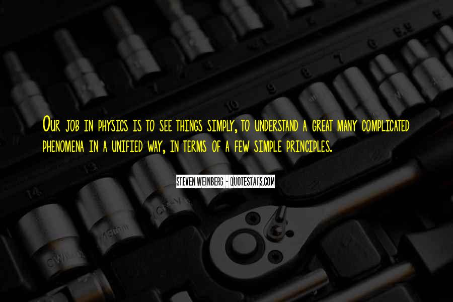 Steven Weinberg Quotes #614690