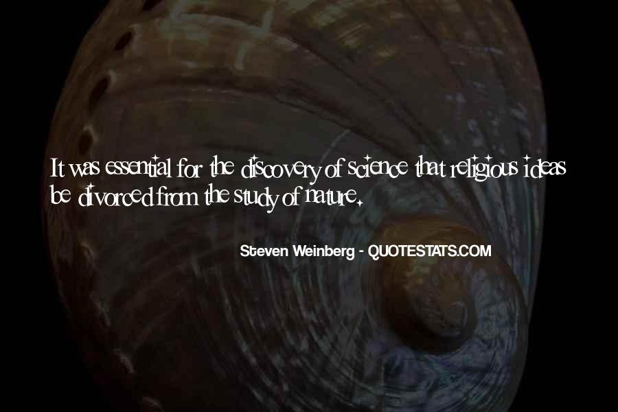 Steven Weinberg Quotes #808527