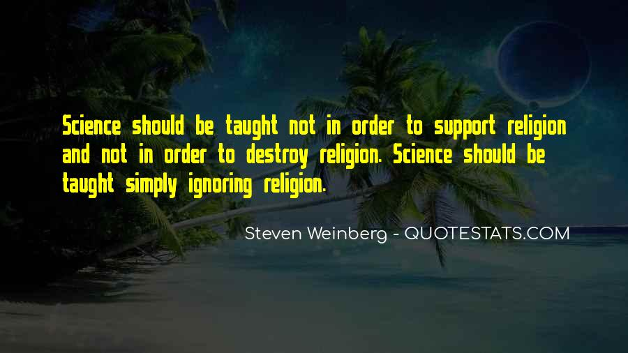 Steven Weinberg Quotes #970586