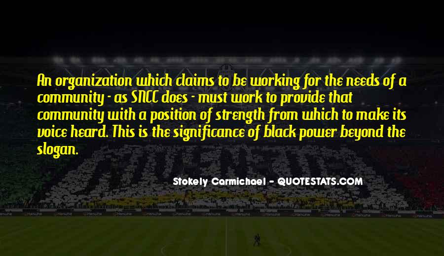Stokely Carmichael Quotes #517951