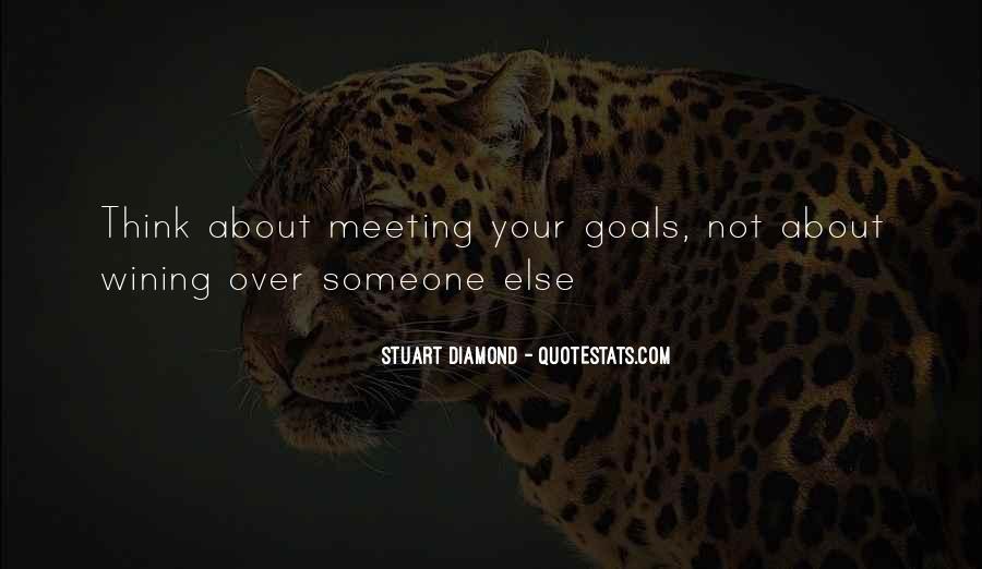 Stuart Diamond Quotes #1075733