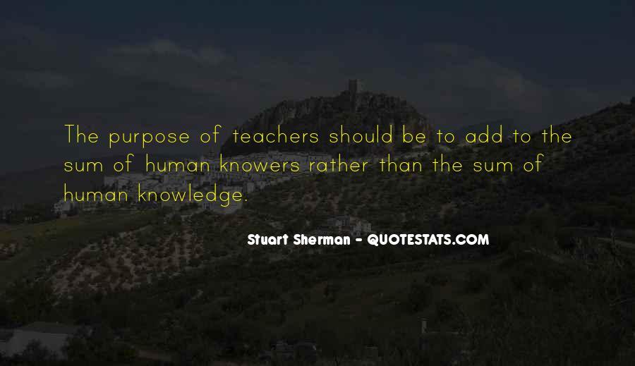 Stuart Sherman Quotes #294407