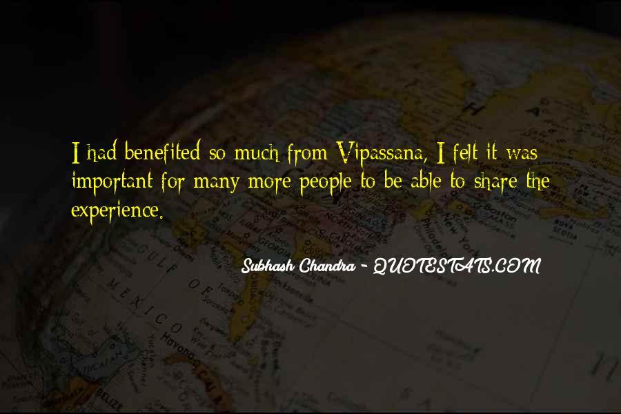 Subhash Chandra Quotes #628020