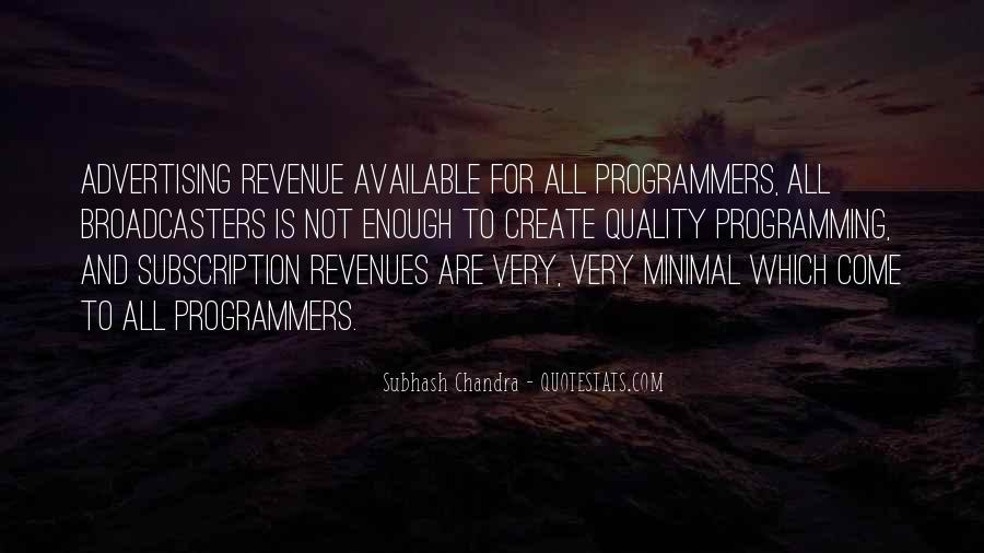 Subhash Chandra Quotes #635437