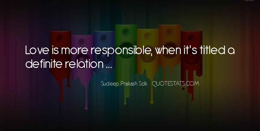 Sudeep Prakash Sdk Quotes #124740