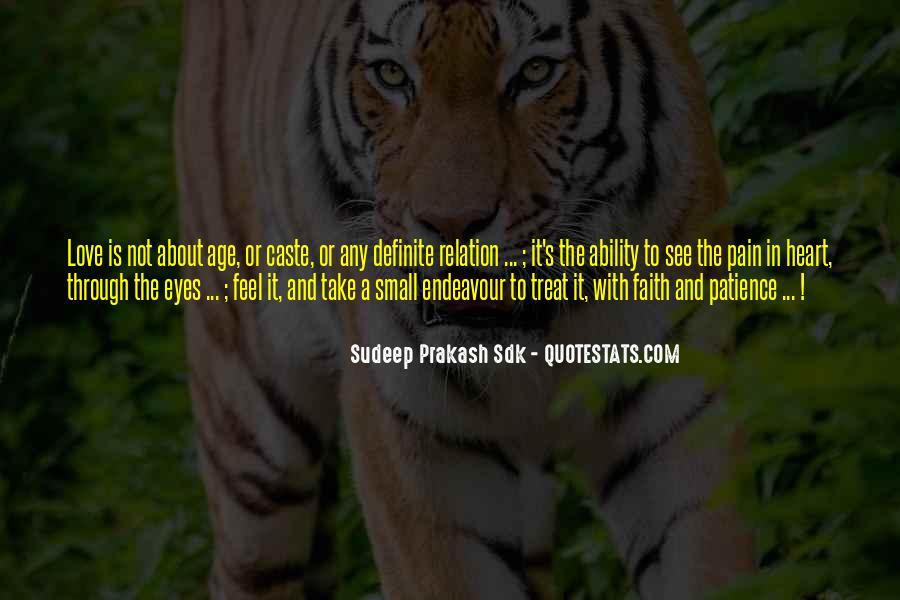 Sudeep Prakash Sdk Quotes #876701