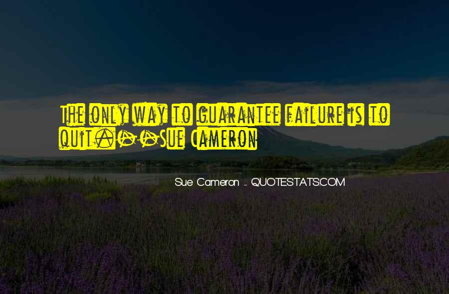 Sue Cameron Quotes #1189977