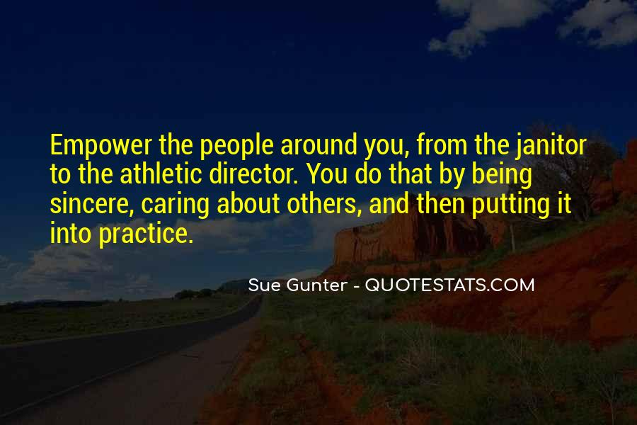 Sue Gunter Quotes #651071
