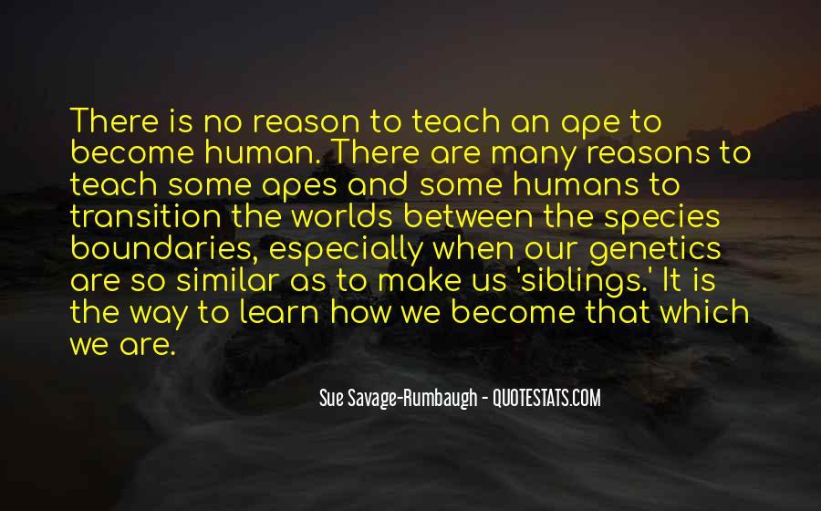 Sue Savage-Rumbaugh Quotes #590714