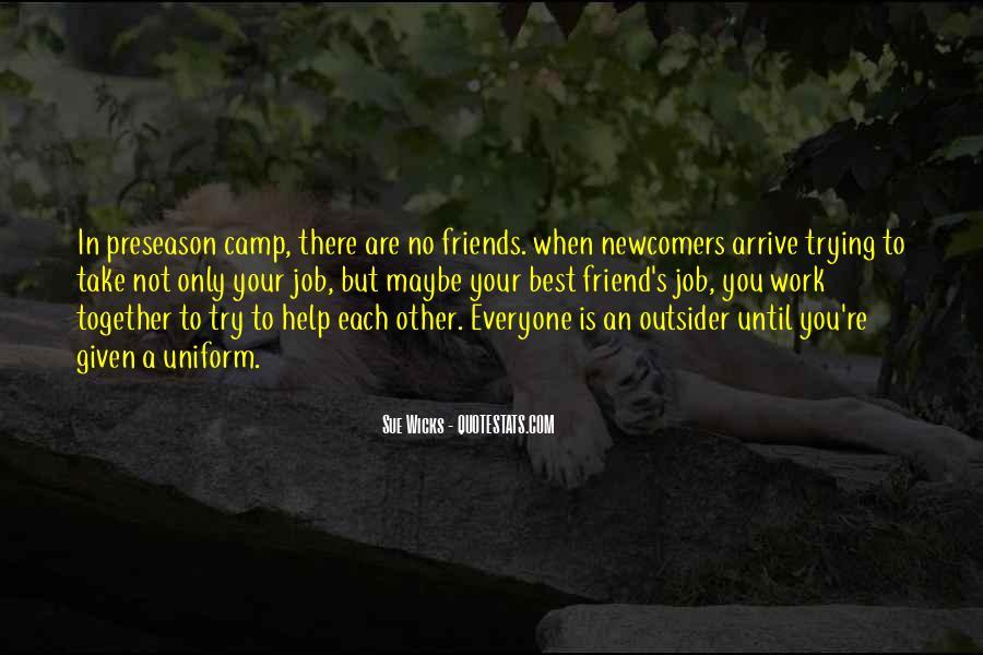 Sue Wicks Quotes #587670