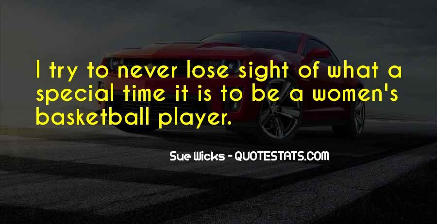 Sue Wicks Quotes #982534