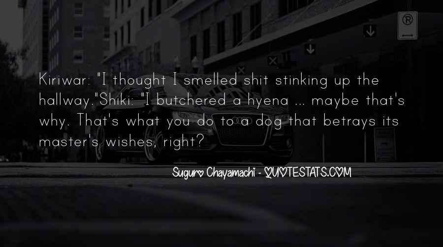 Suguro Chayamachi Quotes #295725