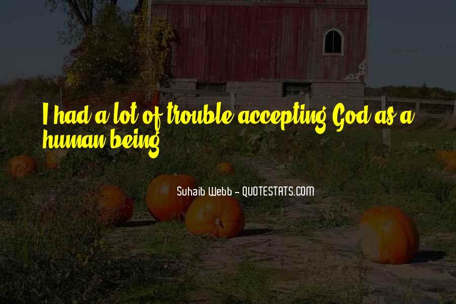Suhaib Webb Quotes #297716