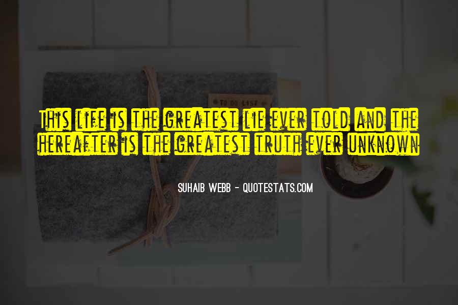 Suhaib Webb Quotes #581988
