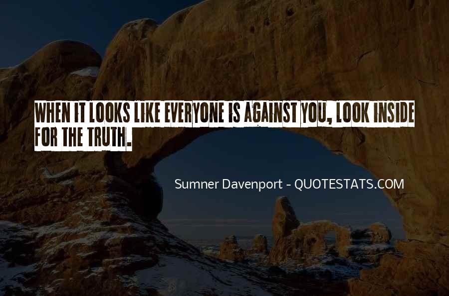 Sumner Davenport Quotes #1606110