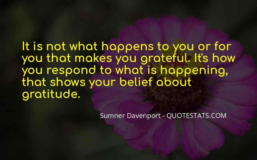 Sumner Davenport Quotes #1629501
