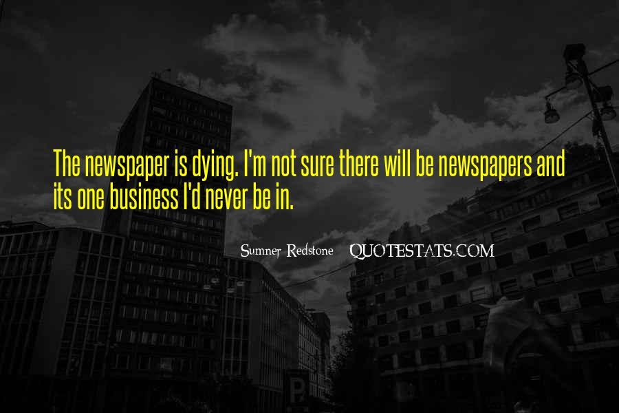 Sumner Redstone Quotes #1318194
