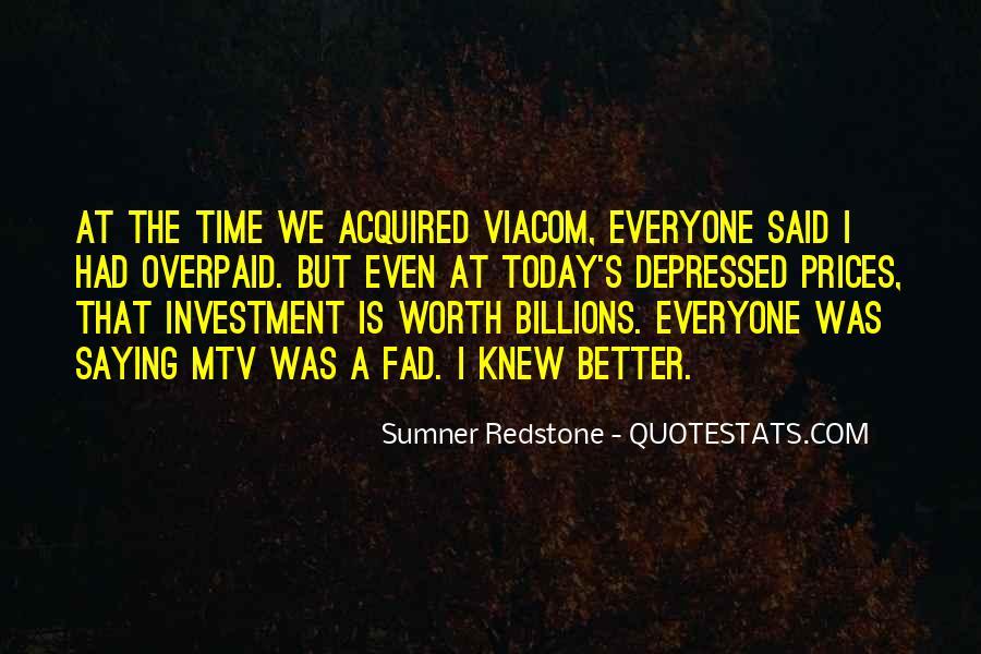 Sumner Redstone Quotes #819462