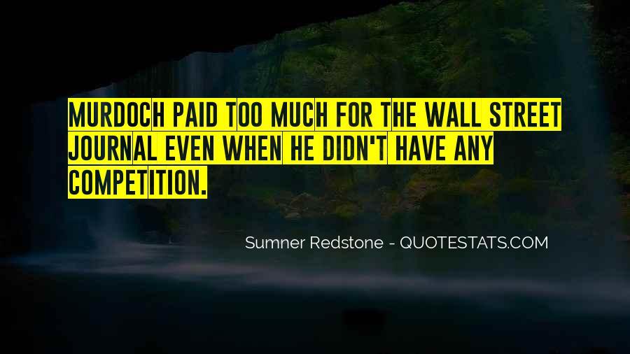 Sumner Redstone Quotes #833448