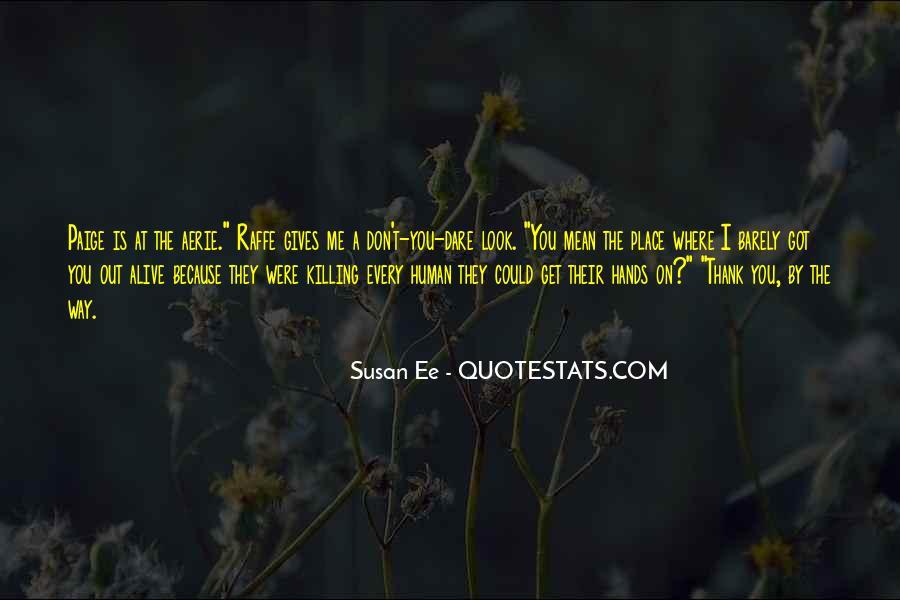 Susan Ee Quotes #441228