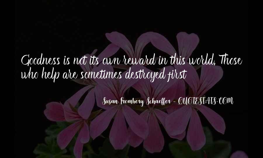 Susan Fromberg Schaeffer Quotes #1503124