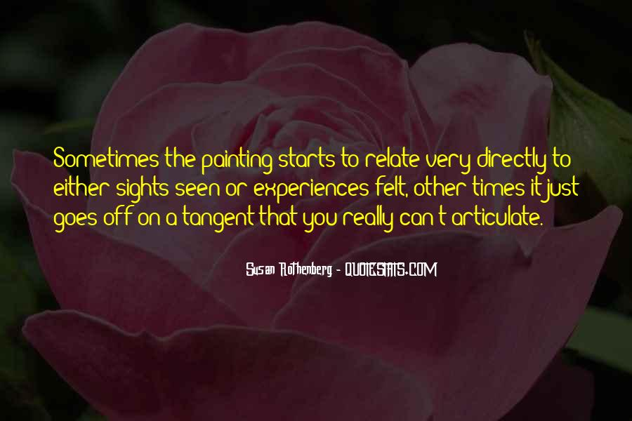 Susan Rothenberg Quotes #579049