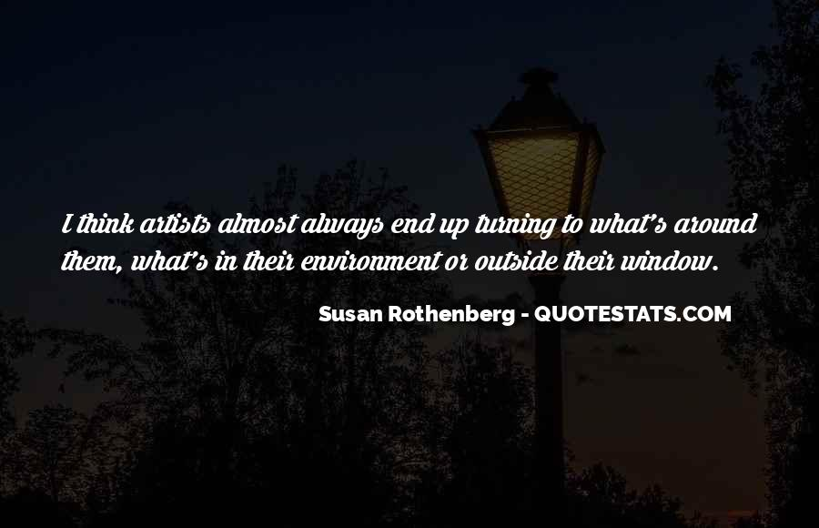 Susan Rothenberg Quotes #772826
