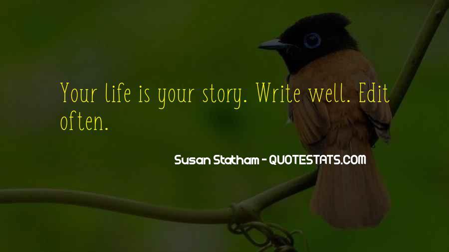 Susan Statham Quotes #1457284