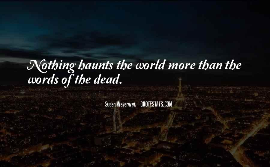 Susan Waterwyk Quotes #939768
