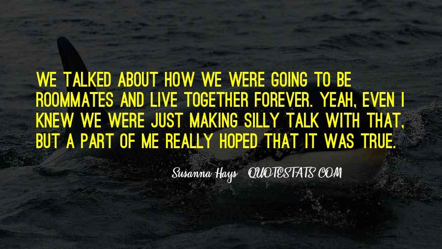 Susanna Hays Quotes #213272