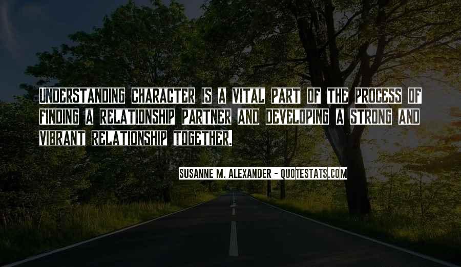 Susanne M. Alexander Quotes #1521870