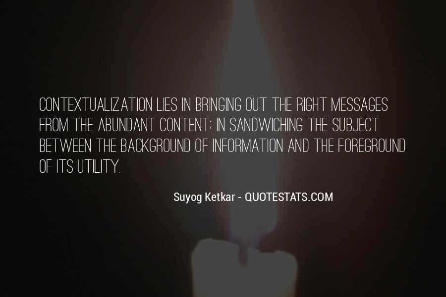 Suyog Ketkar Quotes #1414047